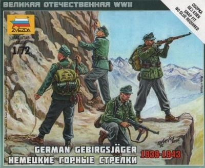 6154 - German Gebirgsjäger 1/72