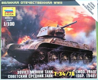 6159 - Soviet T-34/76 Mod 1942 1/100