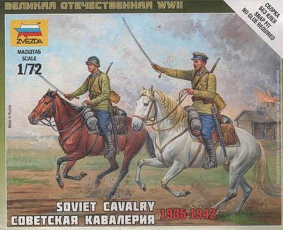 6161 - Soviet Cavalry 1/72