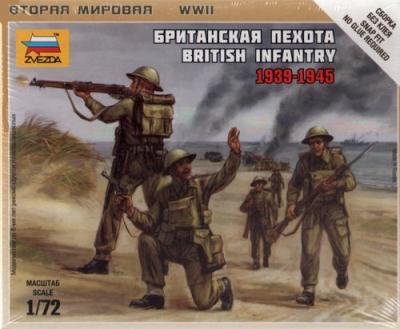 6166 - British Infantry 1939-45 (WWII)