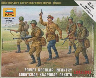 6179 - Soviet Regular Infantry 1/72