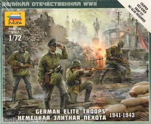 6180 - German Elite Troops 1/72