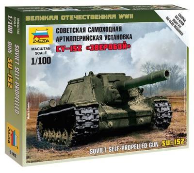 6182 - Soviet SU-152 1/100