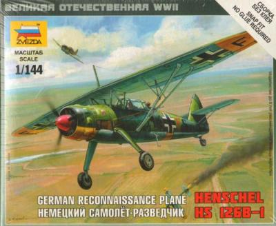 6184 - Henschel Hs 126B 1/144