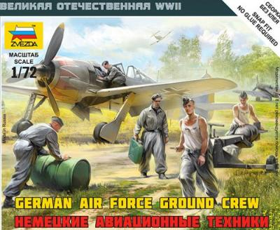 6188 - Luftwaffe Ground Crew (WWII) 1/72