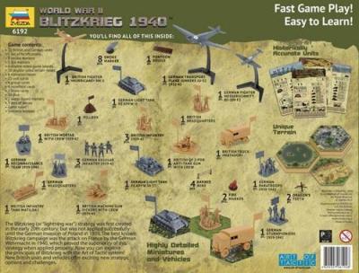 6192 - Blitzkrieg 1940 Wargame 1/72