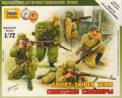 6193 - Soviet Snipers 1/72