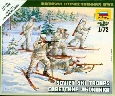 6199 - Soviet Ski Troops 1/72