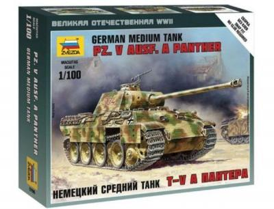6196 - Pz.V Ausf A Panther 1/100