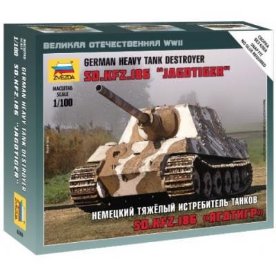 6206 - SD.KFZ.186 Jagdtiger Tank Destroyer 1/100