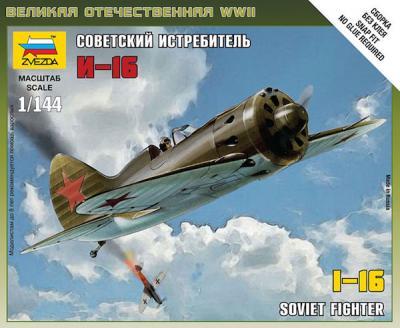 6254 - Polikarpov I-16 1/144