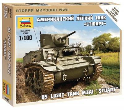 6265 - M3A1 Stuart Tank 1/100