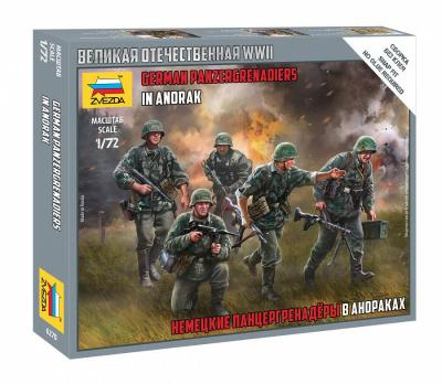 6270 - German Panzergrenadiers in Anorak 1/72
