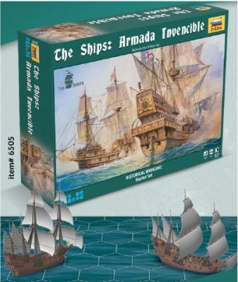 6505 - Armada Invincible Historical Wargame - Art of Tactic 1/350