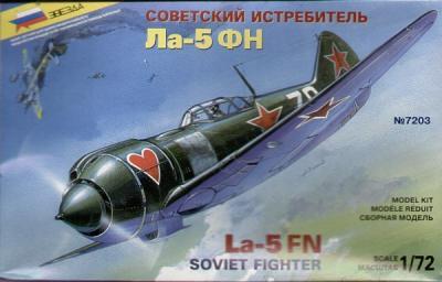 7203 - Lavochkin La-5FN 1/72