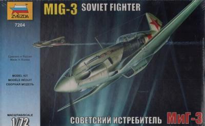 7204 - Mikoyan MiG-3 1/72