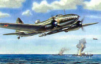 7223 - Ilyushin IL-4T Torpedo Bomber 1/72