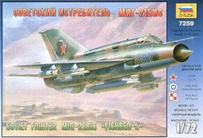 7259 - Mikoyan MiG-21Bis 'Fishbed L' 1/72