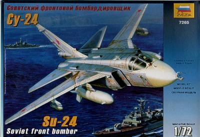 7265 - Sukhoi Su-24 Soviet front bomber 1/72