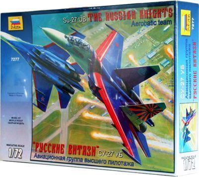 7277 - Sukhoi Su-27UB 'Russian Knights' Display team 1/72
