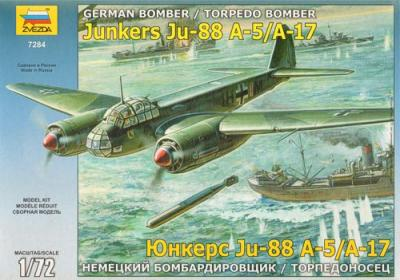 7284 - Junkers Ju 88A-17/A-5 1/72