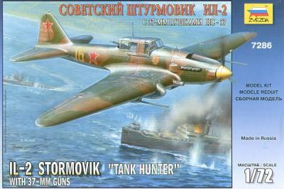 7286 - Ilyushin IL-2 Tank Hunter 1/72