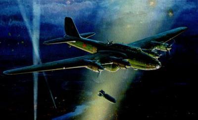 7291 - Tupolev TB-7 Soviet Bomber [Petlyakov Pe-8] 1/72