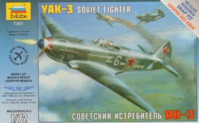 7301 - Yakovlev Yak-3 1/72