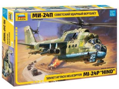 7315 - MiL Mi-24P Hind F Attack Helicopter 1/72
