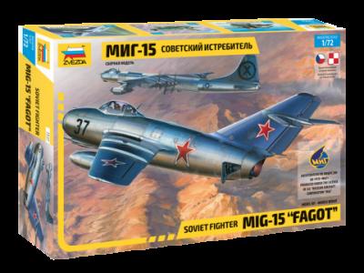 7317 - Mikoyan MiG-15 Fagot 1/72
