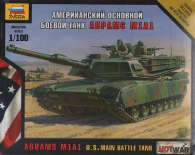 7405 - Abrams M1A1 1/100
