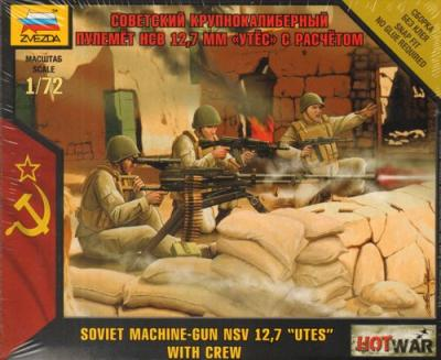7411 - Soviet Machine Gun NSV 12,7 'Utes' 1/72