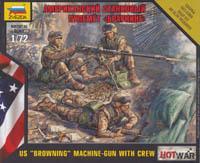 7414 - US Machine Gun M2 'Browning' 1/72