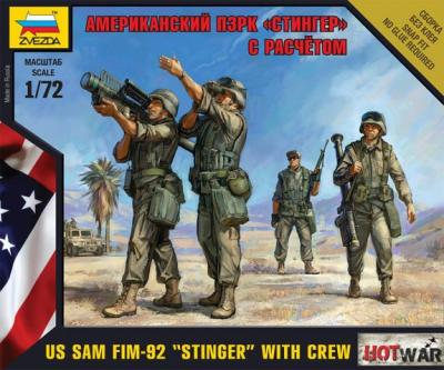 7416 - US SAM FIM-92 'Stinger' 1/72