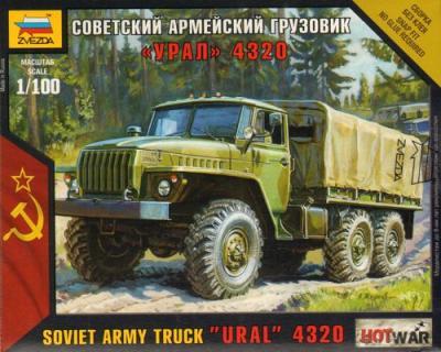 7417 - Ural Truck 1/100