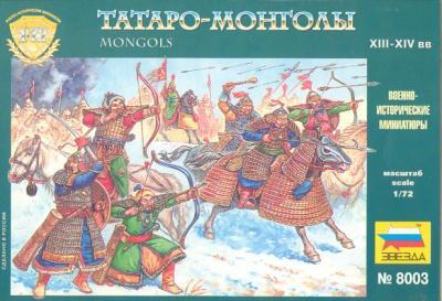 8003 - Mongols 1/72