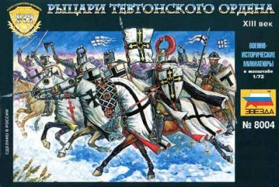 8004 - Chevaliers teutoniques 1/72