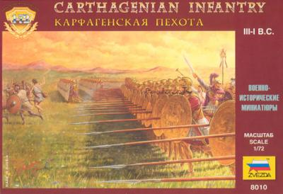 8010 - Infanterie carthaginoise 1/72