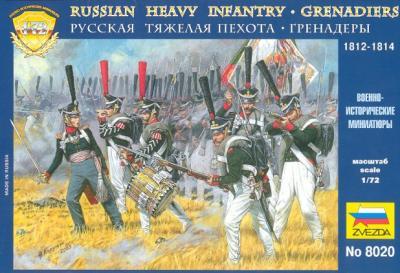 8020 - Grenadiers russes 1/72