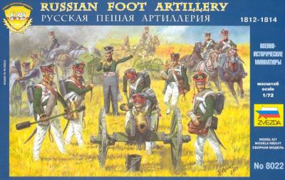 8022 - Artillerie russe 1/72