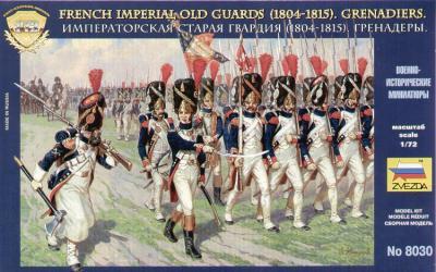 8030 - Grenadiers de la garde français 1/72