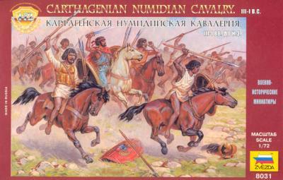 8031 - Cavalerie numide 1/72