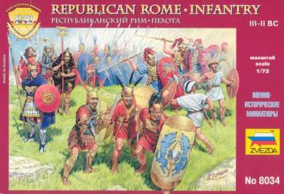 8034 - Infanterie romaine républicaine 1/72