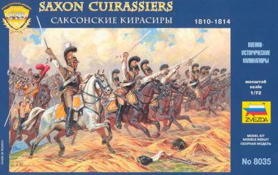 8035 - Cuirassiers saxons 1/72