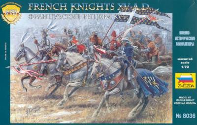 8036 - Chevaliers français 1/72