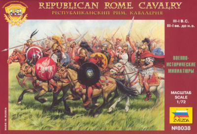 8038 - Cavalerie romaine républicaine 1/72