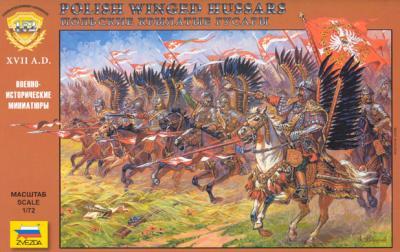 8041 - Hussards ailés polonais 1/72
