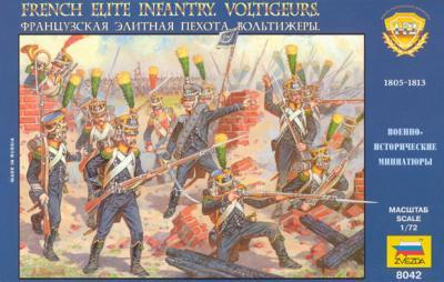 8042 - French Elite Infantry Voltigeurs 1/72
