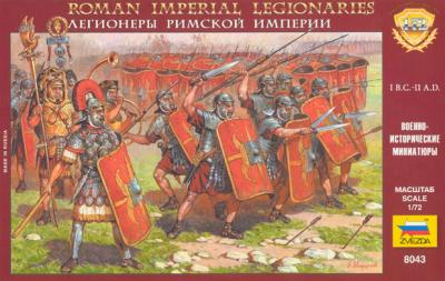 8043 - Légionnaires romains 1/72