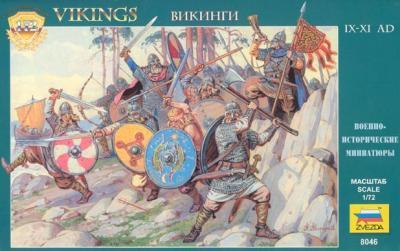 8046 - Vikings 1/72